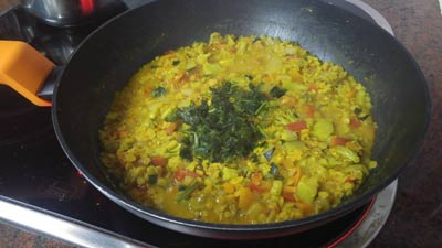 Curry salsa facil