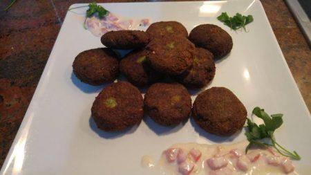 Recetas tradicionales Libano falafel