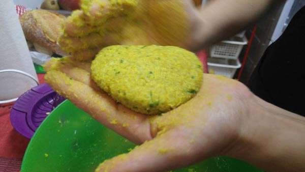 Como cocinar quinoa para burguer