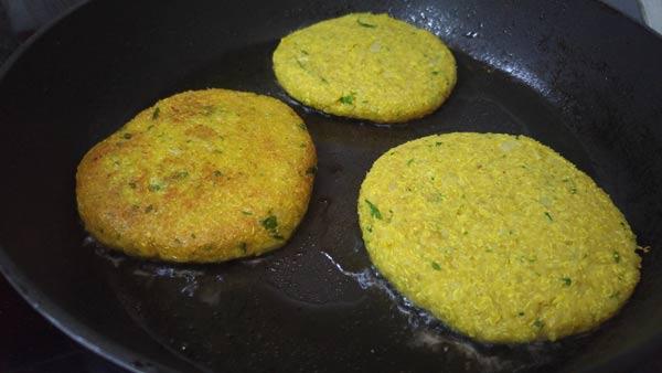 Dorar hamburguesas de quinoa