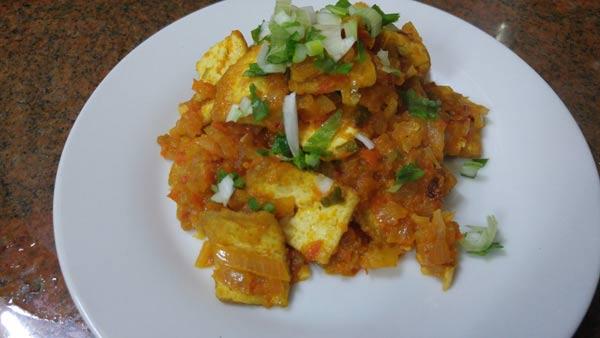 Recetas veganas de tofu picante