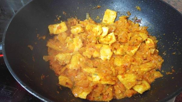 Cómo cocinar tofu picante de Corea