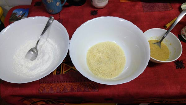 Receta de tofu vegano agridulce con panko crujiente