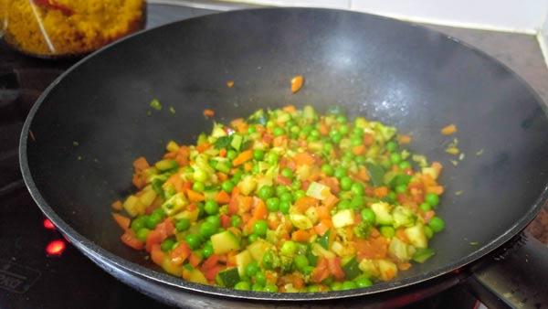 como cocinar quinoa con verduras