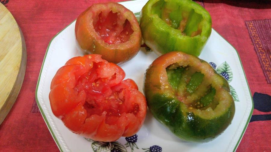 Comidas con verduras