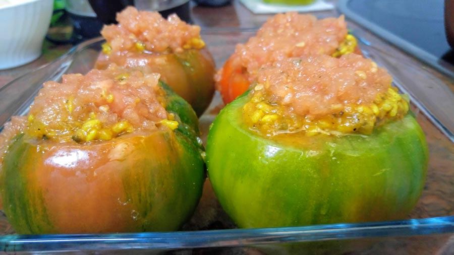 Recetas light de tomates rellenos