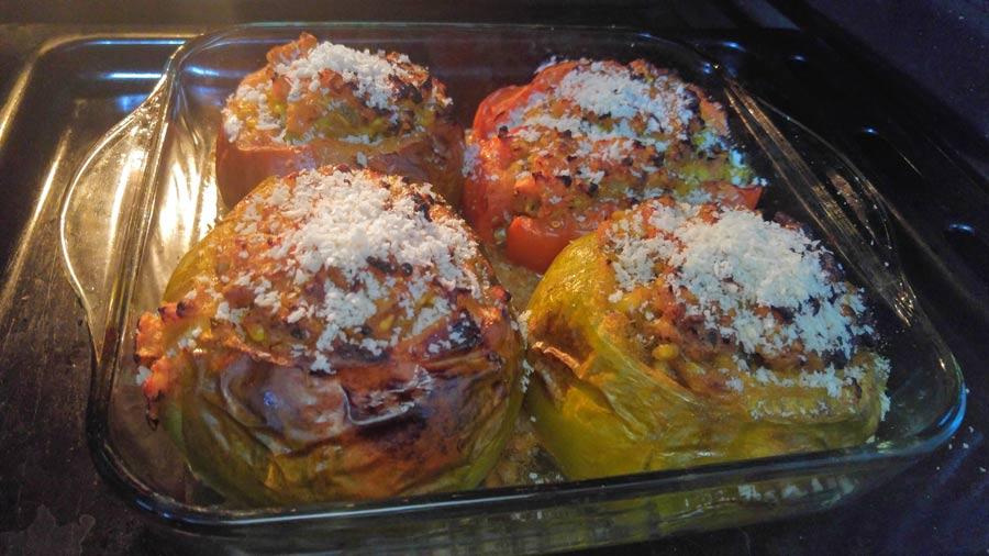 como se hacen los tomates rellenos