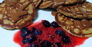 Cómo hacer tortitas proteicas veganas