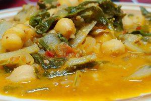 Acelgas esparragadas receta tradicional