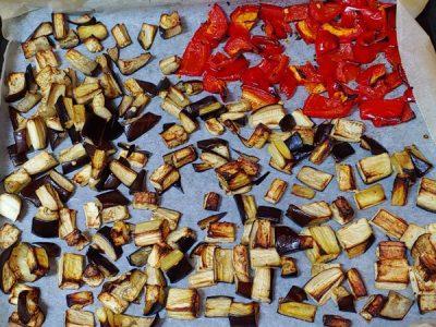 Guiso de berenjenas con patatas