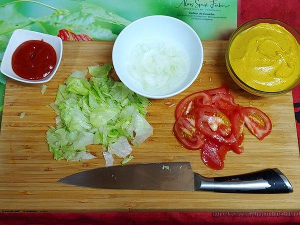 Guarnición para hamburguesas de lentejas con champiñones, avena y veganas