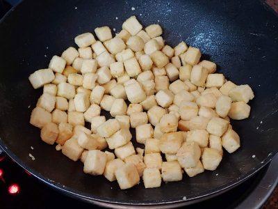 Receta vegana de tofu a la naranja crujiente