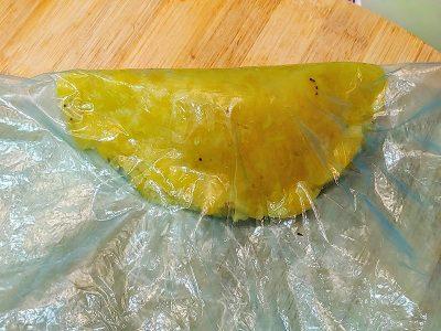 Empanadas de platano con queso vegano