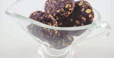 Galletas veganas de avena y chocolate sin horno sin harina saludables