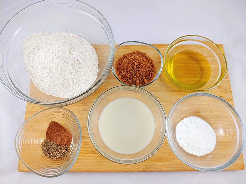 Ingredientes-bizcocho-vegano