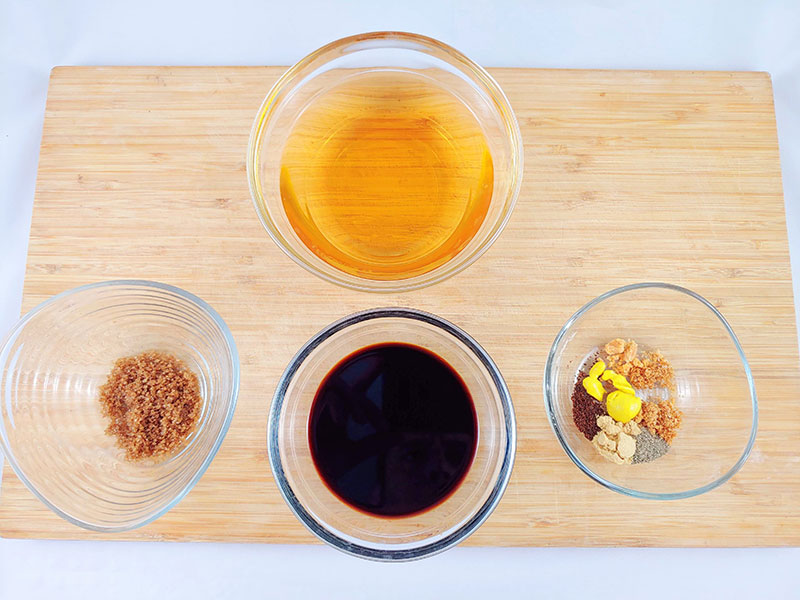 Ingredientes de la salsa Worcestershire