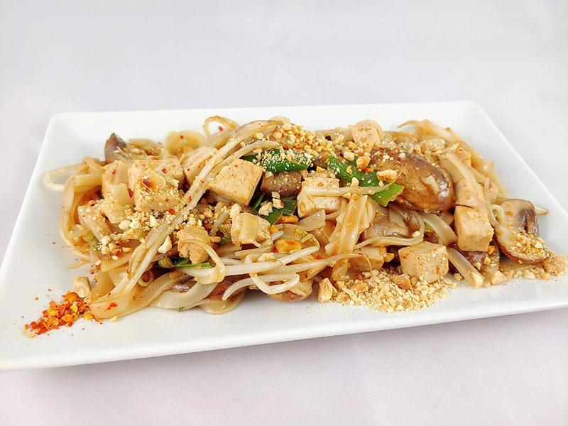 Pad Thai receta vegetariano