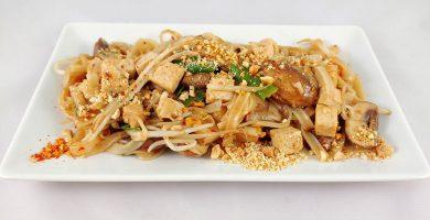 Receta de Pad Thai vegano al wok