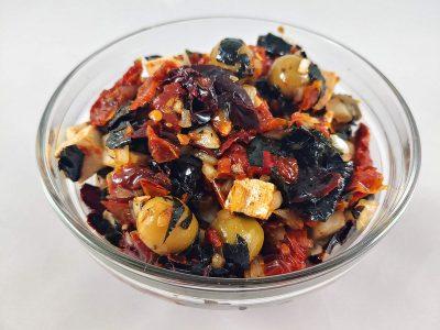 Pipirrana vegetariana receta